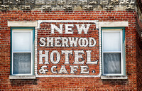 New Sherwood Hotel & Cafe, at the Kentucky Railway Museum