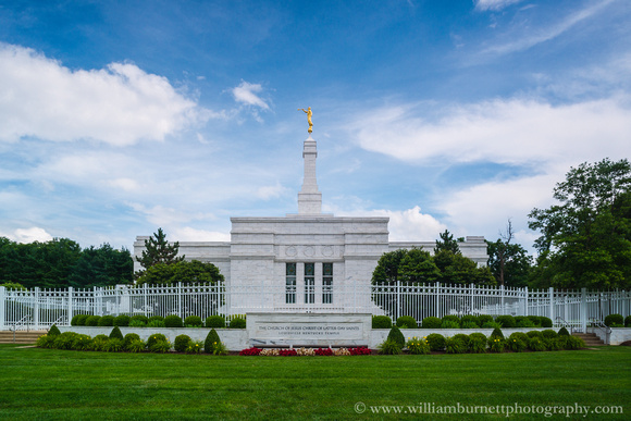 Louisville Kentucky Temple of The Church of Jesus Christ of Latter-Day Saints.